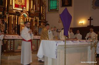 Liturgia Wielkiego Czwartku w parafii Bucze
