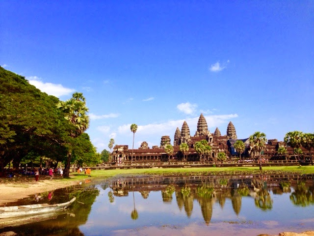 Angkor Wat at noon