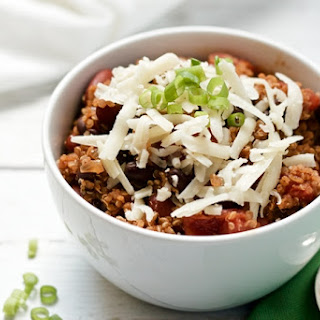 Quinoa Vegetarian Chili.