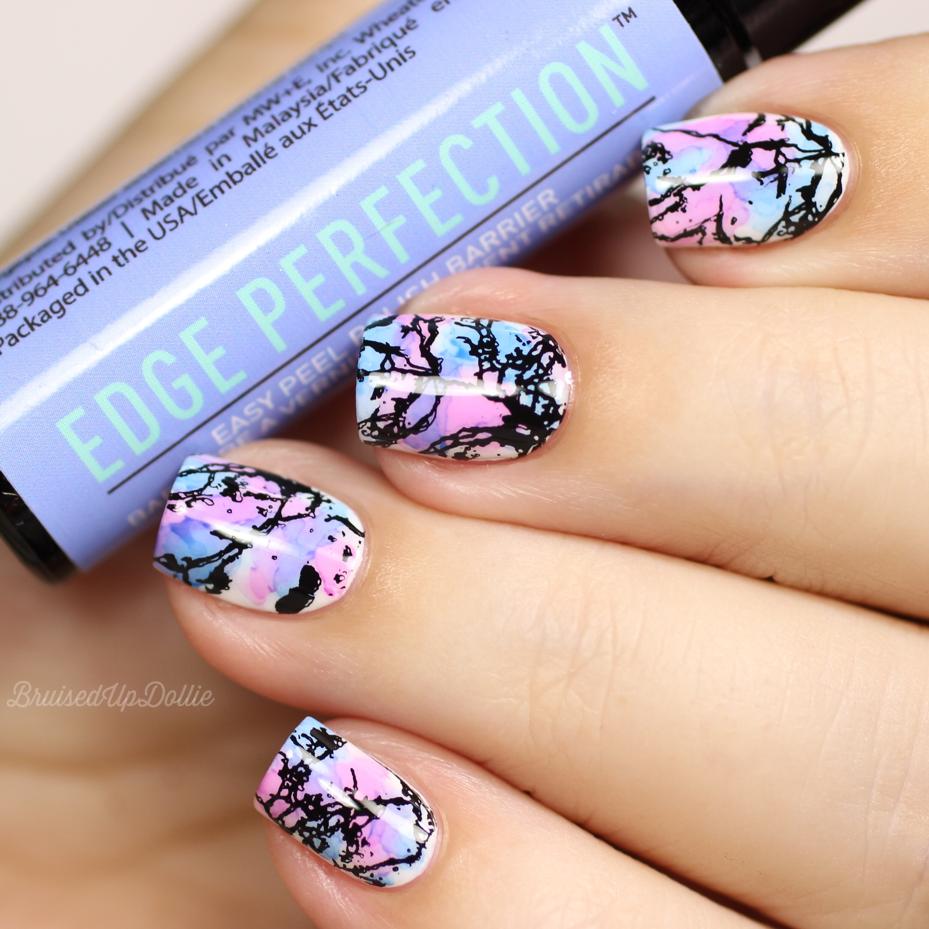 Edge Perfection easy peel polish barrier - BruisedUpDollie Nails