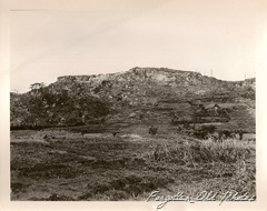 Photo 2 marked Okinawa note the caves in the ridge Number 692