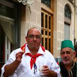 Embajada del moro y desfile
