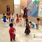 Independence Day & Janmashtami Celebration of Playgroup Section at Witty World, Chikoowadi (2017-18)