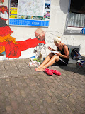 Vuelta gevelschildering, Café De Dorpskern Hijken