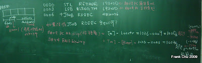 使用延伸格式和相對定址的說明