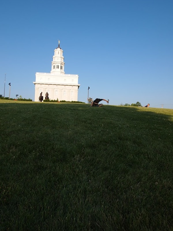roll down the hill at Nauvoo