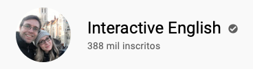 101 canais do YouTube para aprender inglês de graça Interactive English