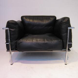 Vintage Le Corbusier LC3 Style Chair #2