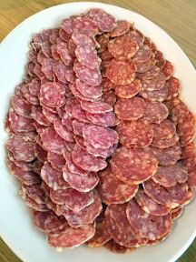 Meadowlark PDX Apericena: A Springtime Sicilian Cocktail Party, antipasti, salami