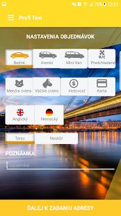 A Profi Taxi Bratislava - náhled