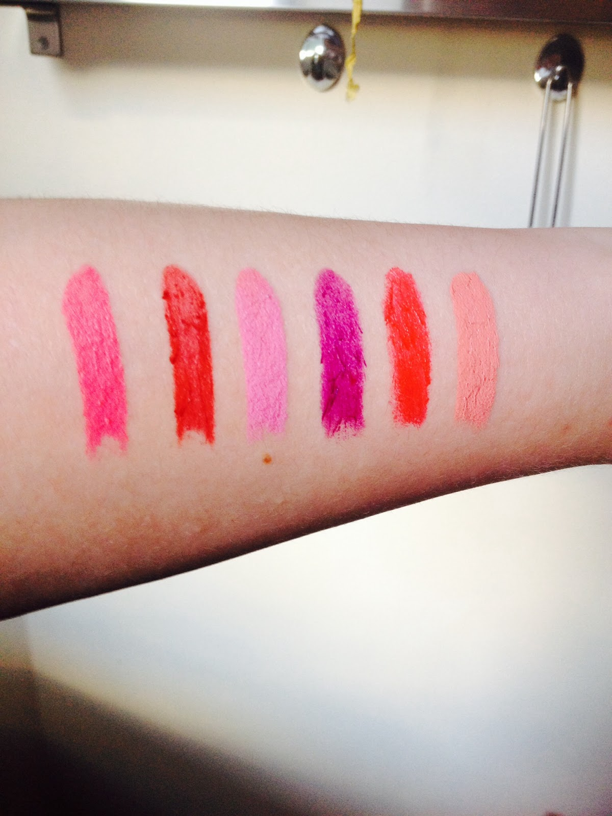 Limecrime Swatches