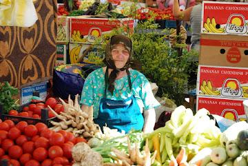 Auf dem Zibin-Markt