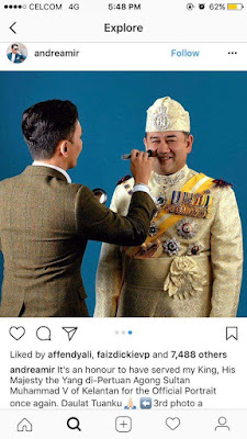 Tukang Make Up YDP Agong