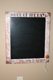 Redefining C Word Of The Day Chalkboard