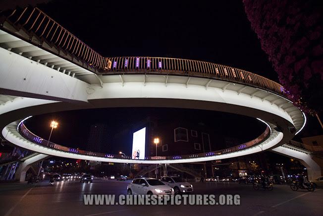 Hefei Night Photo - Overpass