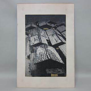 Shiro Kasamatsu Woodblock Print