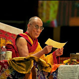 His Holiness the Dalai Lama at the Kalachakra for World Peace