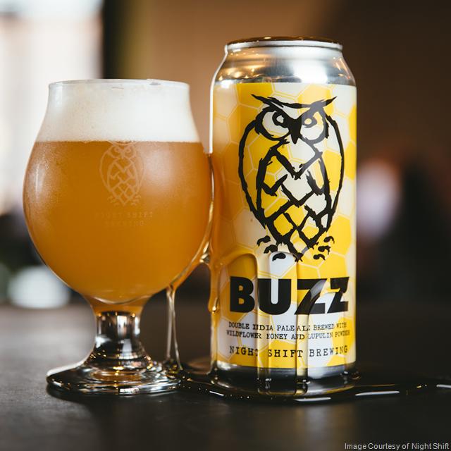 Night Shift Releasing Buzz Double IPA 7/6
