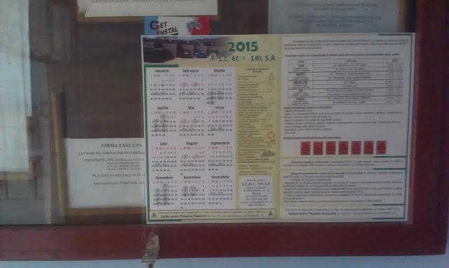 Distribuire gratuita a calendarelor cu date de colectare - IMAG0430.jpg