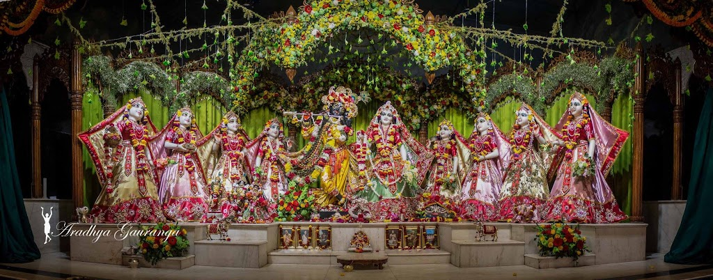 ISKCON Mayapur Deity Darshan 13 Jan 2017 (2)