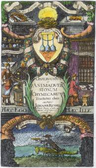 From Johannes Kunckel Observationes Chymicae 1678, Alchemical And Hermetic Emblems 2