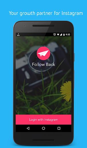 Follow back: Gain Followers