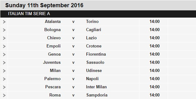 Serie%2BA%2Bschedule%2B3 Planning a Football Trip to Italy - SERIE A FIXTURES 2016/17