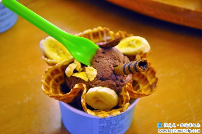 黑小雞義式手工冰淇淋菜單黑巧克力口味