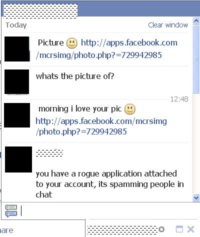 Virus Application Warning – I like your Picture :O