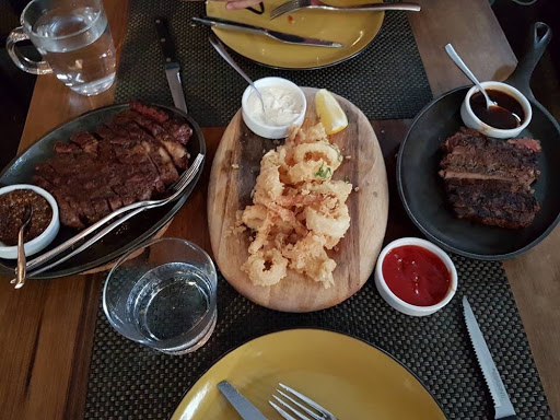 Feasting at Bedrock Bar & Grill at Somerset