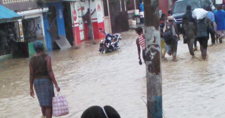 Image result for port de paix flooding