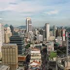 Blick aus dem 28. Stock des Hotels Premiera