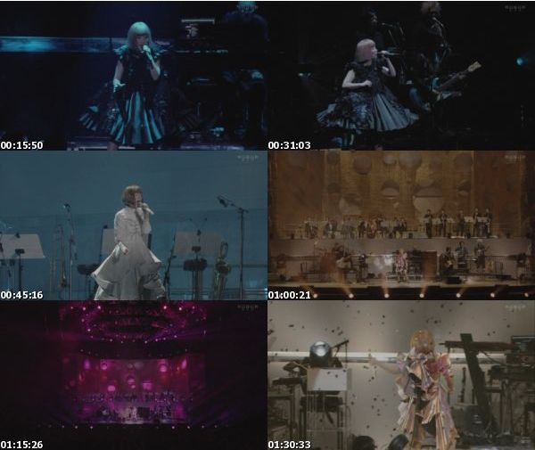 [TV-Variety] YUKI LIVE dance in a circle'15 (WOWOW LIVE 2016.05.05) (TS)