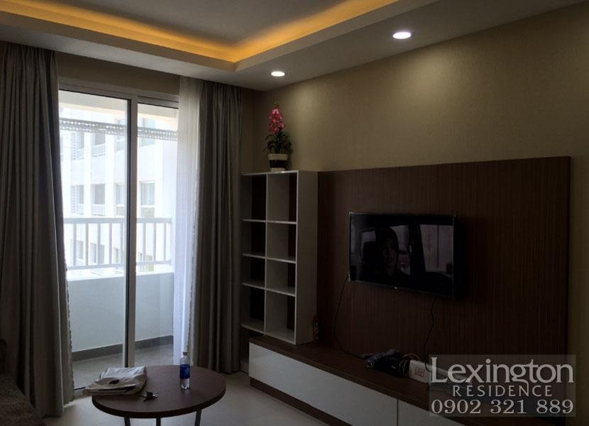 căn hộ Lexington tivi cao cấp tại phòng khách