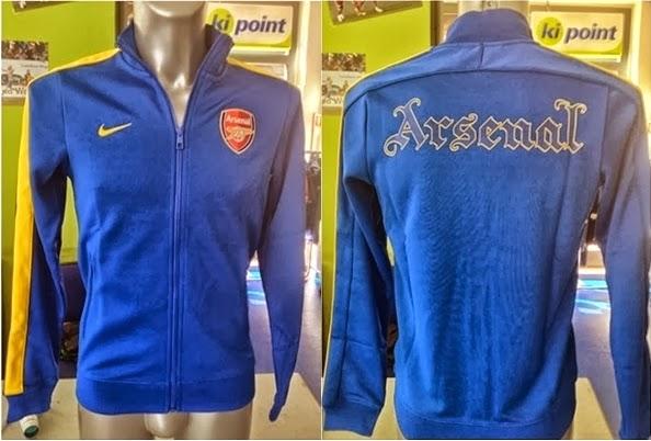 Jual Jaket Arsenal Away Terbaru 2014