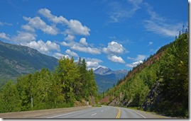 Just west of Kitawanga, BC, Yellowhead Highway