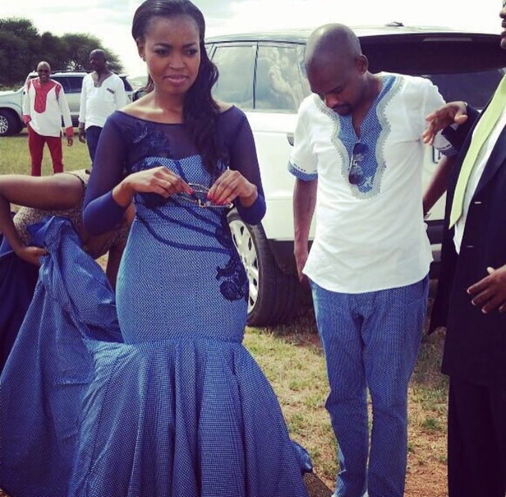 Tswana Traditional Wedding Dresses 2018 Pictures