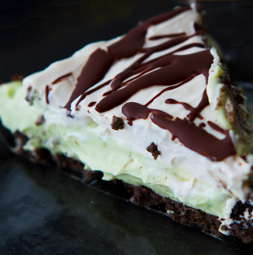 Minty Grasshopper Pie!