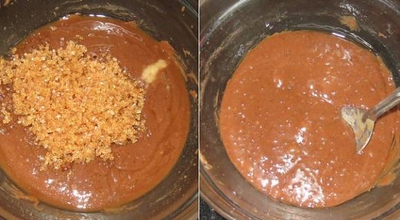 Eggless Mint Chocolate Brownies Recipe   Peppermint Brownies Recipe   Eggless Brownies   Written by Kavitha Ramaswamy of Foodomania.com