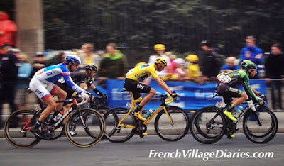 French Village Diaries Tour De France 2015 Paris Team Sky Chris Froome Yellow Jersey