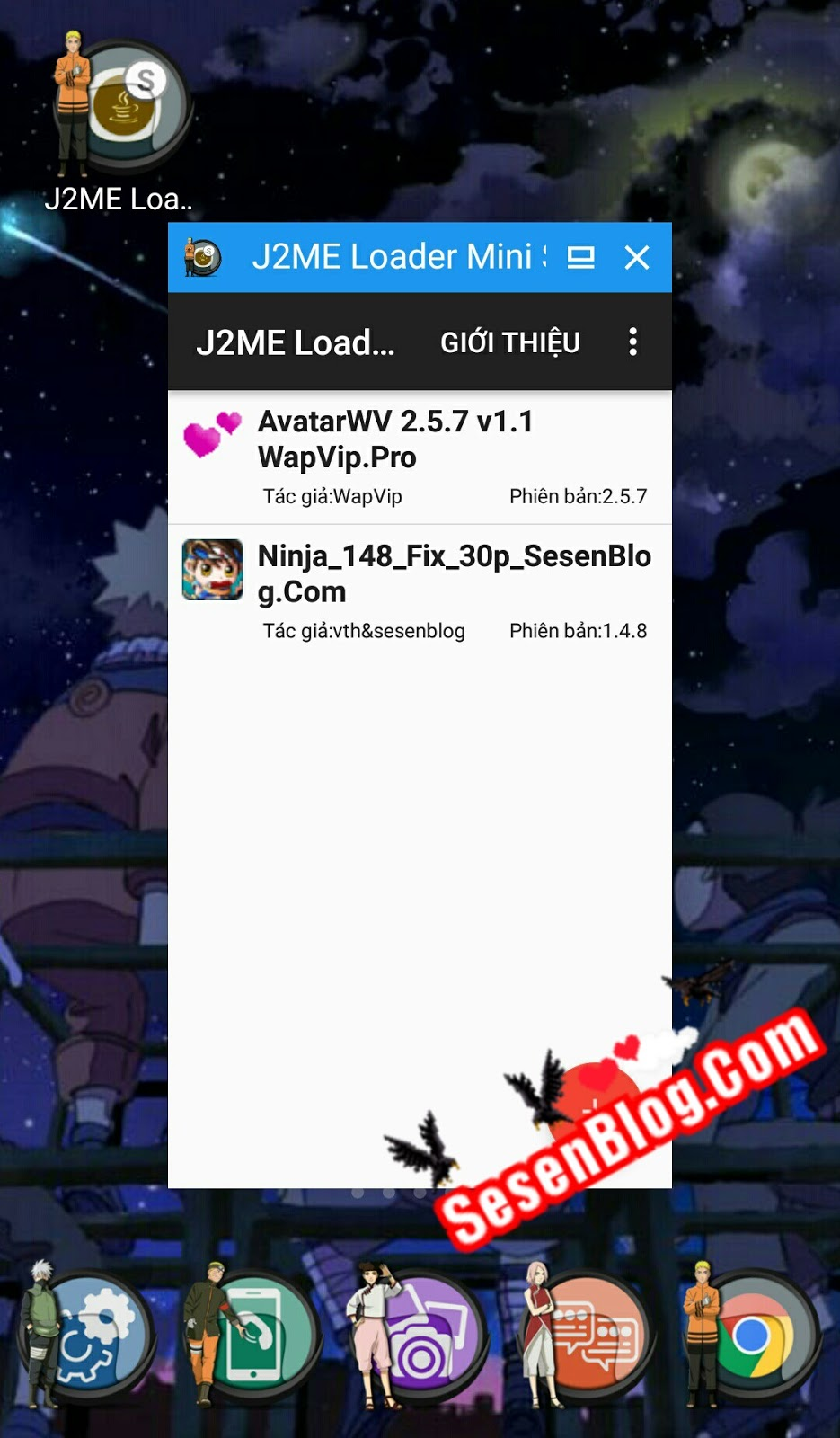 J2ME Loader - Giả Lập Java Trên Android Tốt Nhất Và Bản Thu Nhỏ Cực Hay