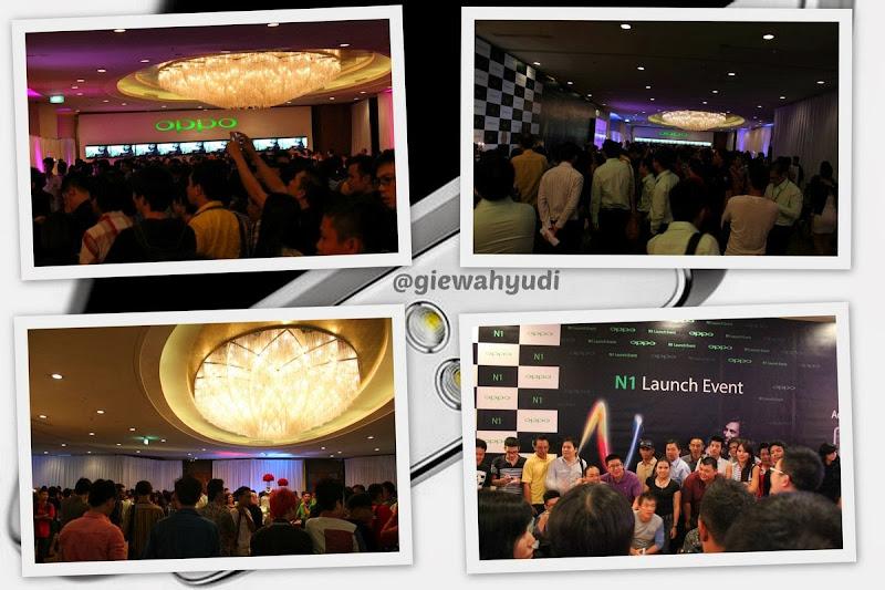 Oppo N1 Launching Jakarta 16 Oktober 2013