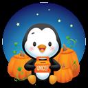 Pingüino Halloween - Caramelos