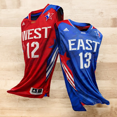 news jersey all star 2013 Adidas Unveils Allstar Jerseys. LeBron Voted from 2nd Place.