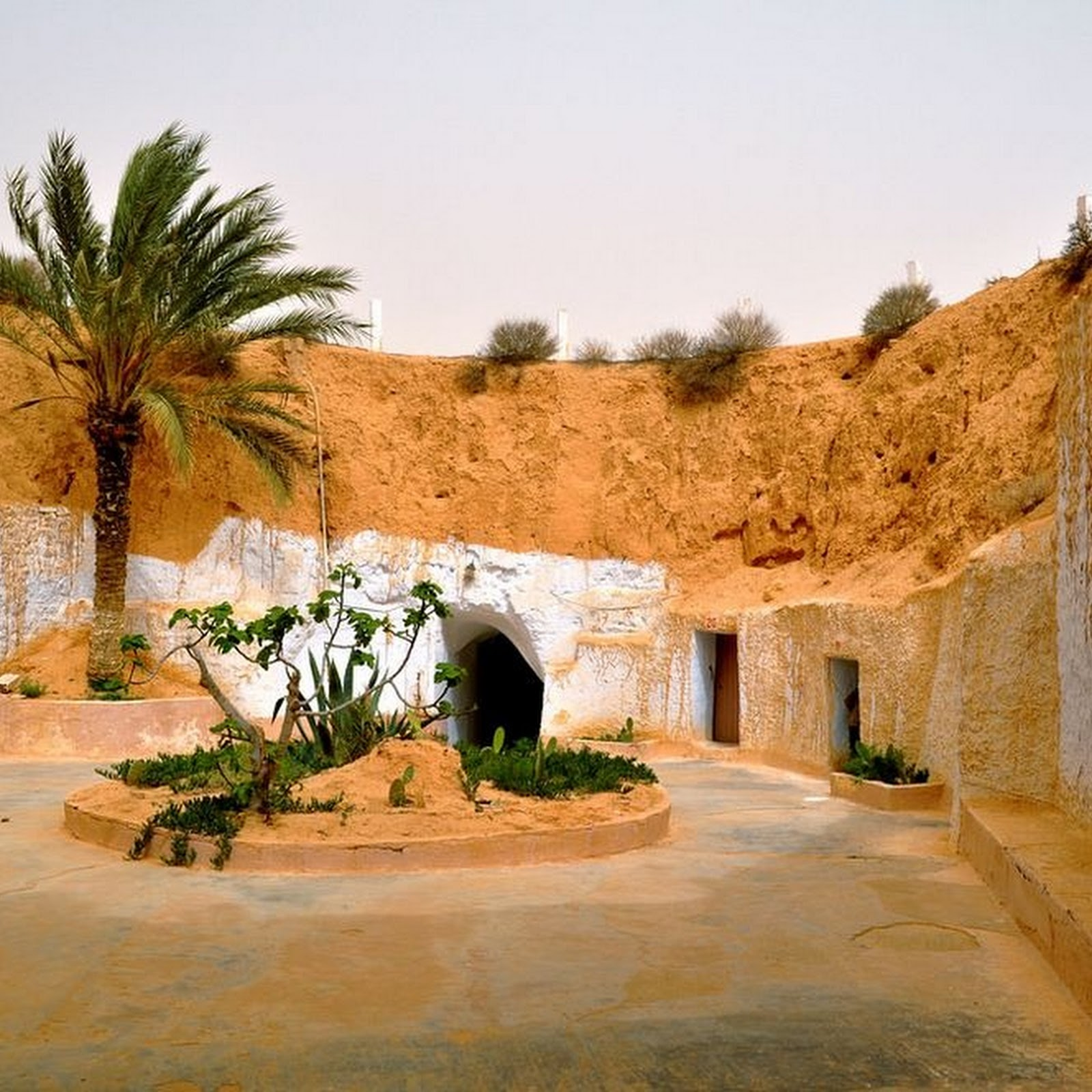 The Underground Homes of Matmata, Tunisia