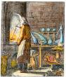 Engraving De Gekheit Der Wereld Netherlands 1731