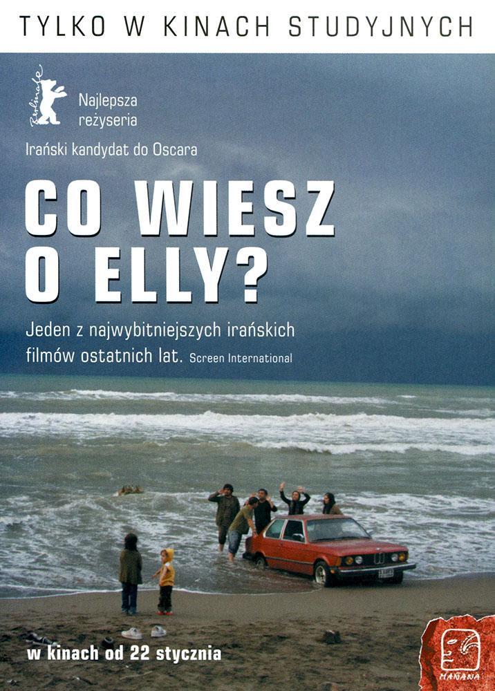 Ulotka filmu 'Co Wiesz O Elly? (przód)'