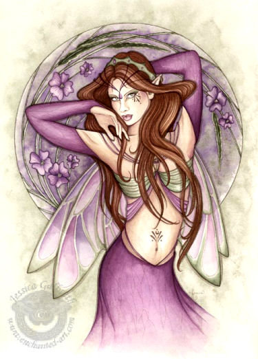 Wiccan Rose Princess, Fairies Girls
