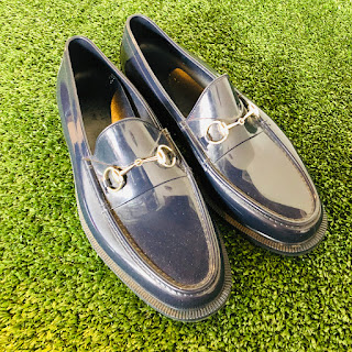 Gucci Rubber Loafers (Damaged)