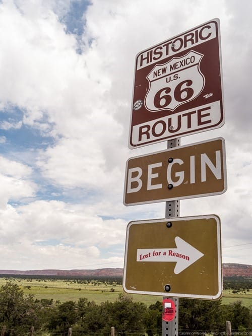 Route 66 Sign New Mexico